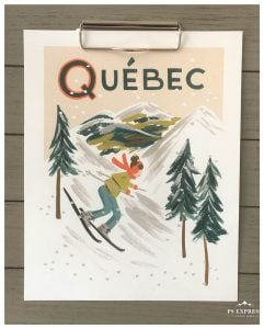 Rifle Paper Co. print of Quebec