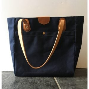 The Wellington Tote – Blue