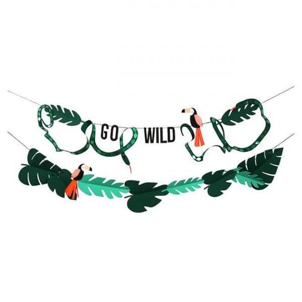 Go Wild Party Garland