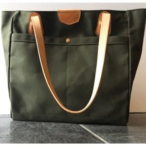The Wellington Tote – Green