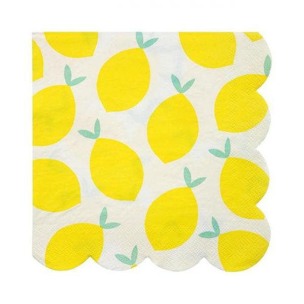 Lemon Napkins, Large
